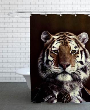 Classy Tiger 2 douchegordijn