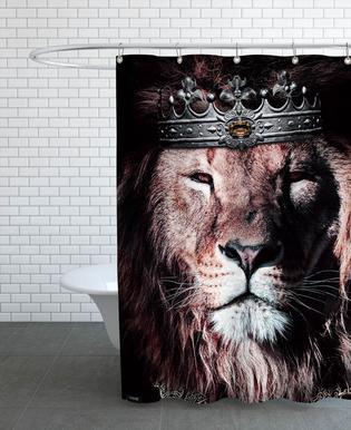 Dark King Shower Curtain