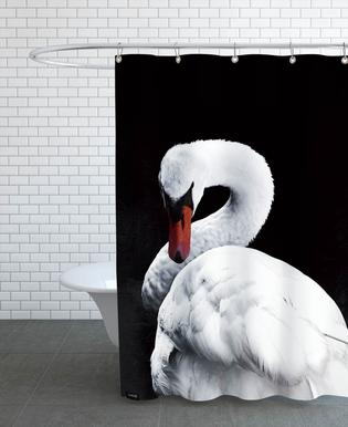 White Swan douchegordijn
