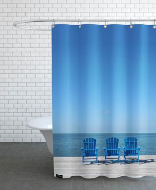 Ocean View douchegordijn