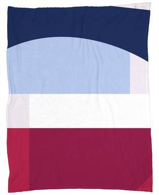 Structure 2 Fleece Blanket