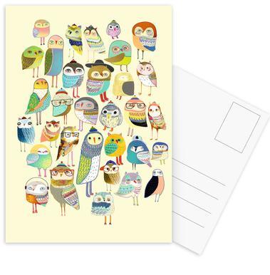 Owl Hundreds cartes postales