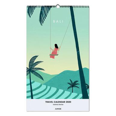 Travel Calendar 2020 - Katinka Reinke wandkalender