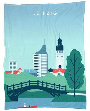Leipzig Fleece Blanket
