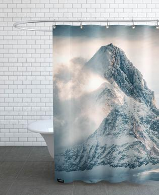 Silver Linings by @noberson Shower Curtain