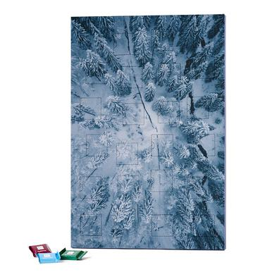 A Family of Pines by @hanneskutza 2019 Chocolate Advent Calendar - Ritter Sport