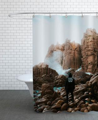 Here to Stay by @connorjvaughan Shower Curtain
