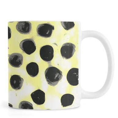 Cross Yellow -Tasse