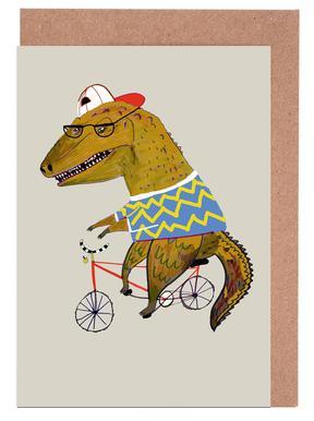 Dinosaur Biker