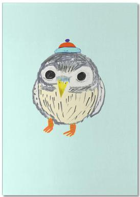 Baby Owl Notepad