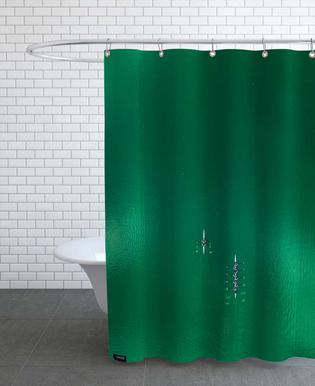 Green Team Shower Curtain