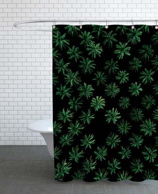 Sleeping Palm Trees Shower Curtain