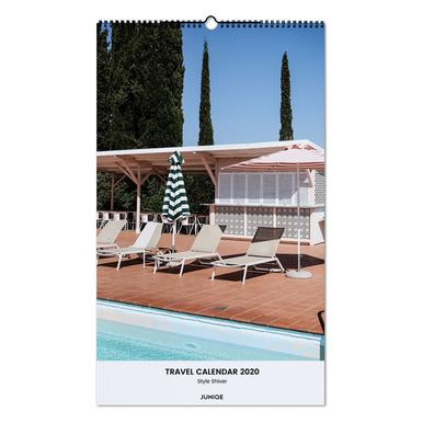 Travel Calendar 2020 - Style Shiver Wall Calendar