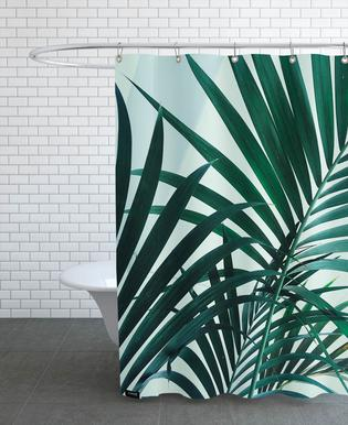 Palm Leaves douchegordijn