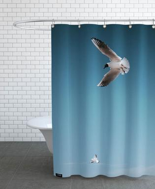 Seagulls I Shower Curtain
