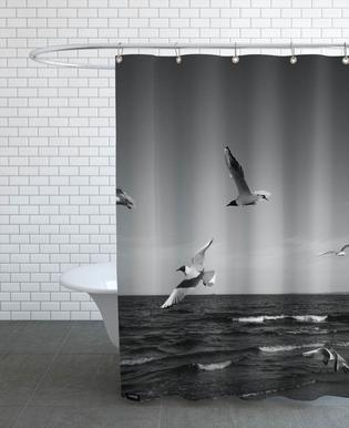 Seagulls III Shower Curtain