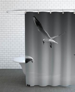 Seagulls V Shower Curtain