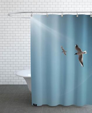 Seagulls VI Shower Curtain