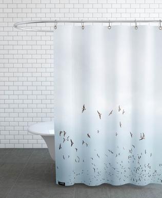Birds in Porto Shower Curtain
