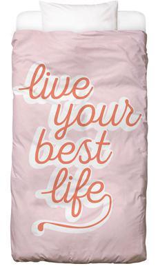 Live your Best Life Bettwäsche