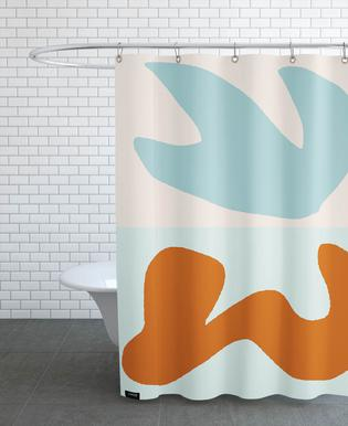 Solid Air Shower Curtain