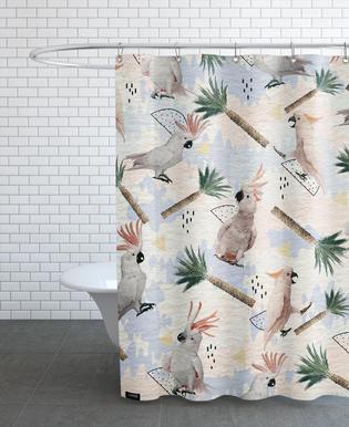 Cockatoos rideau de douche