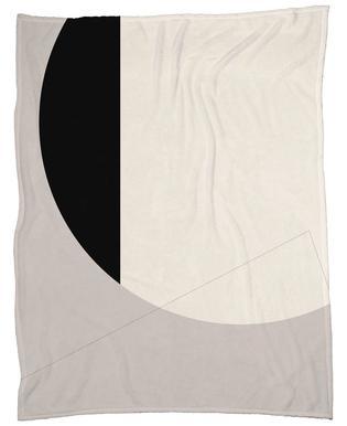 Black Side Fleece Blanket