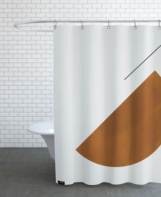 Half Cookie Shower Curtain