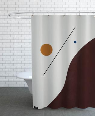 Downhill Shower Curtain