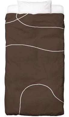 Brownie Dekbedovertrekset