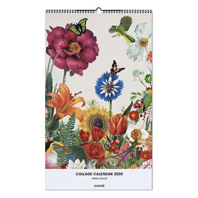 Collage Calendar 2020 - Valero Doval Wall Calendar