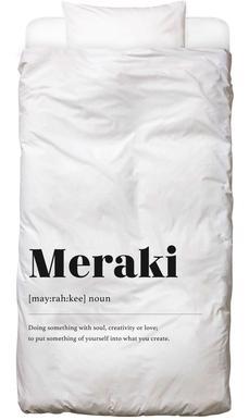 Meraki housse de couette enfant