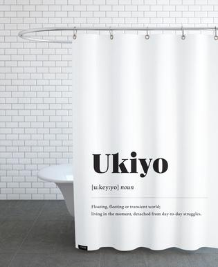 Ukiyo Shower Curtain