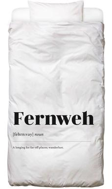 Fernweh Linge de lit