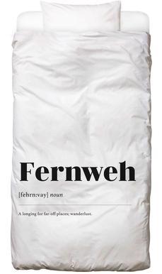 Fernweh housse de couette enfant