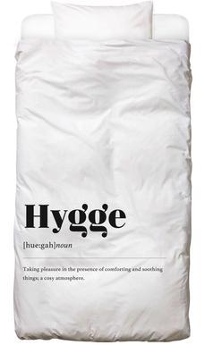 Hygge Linge de lit