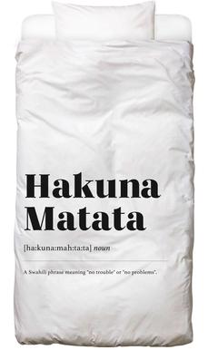 Hakuna Matata Bed Linen