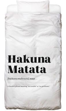 Hakuna Matata housse de couette enfant