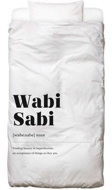 Wabi-Sabi Bed Linen