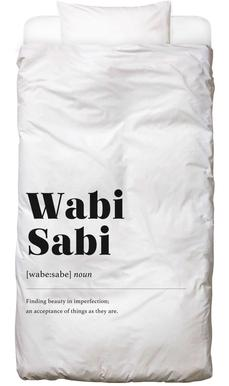Wabi-Sabi Kids' Bedding