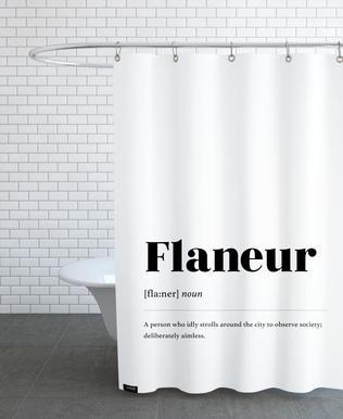 Flaneur Shower Curtain