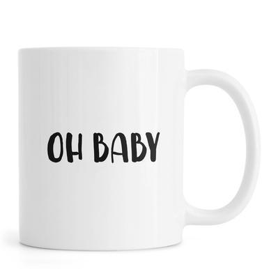Oh Baby B&W Mug