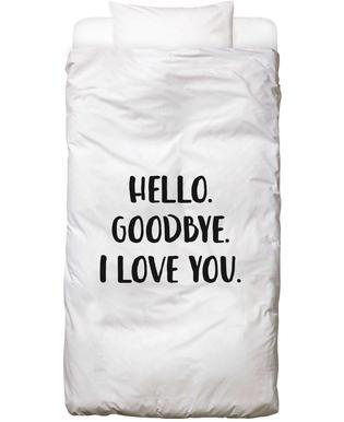Hello Goodbye Bed Linen