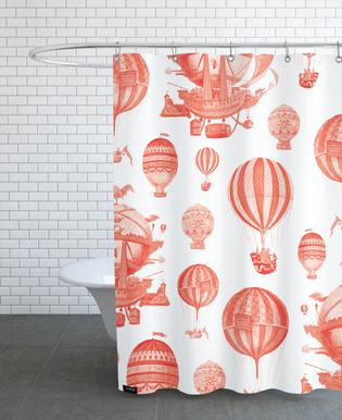Pattern Balloon Shower Curtain