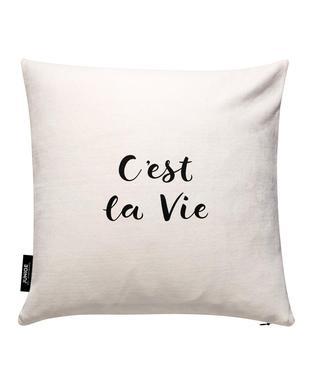 C'est la Vie Cushion Cover