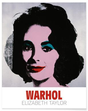 Andy Warhol - Lizz, 1963 Poster