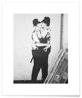 Banksy Brighton Poster