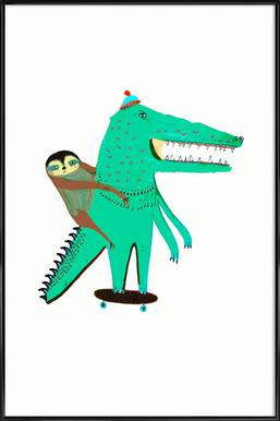Croc Skater and Sloth