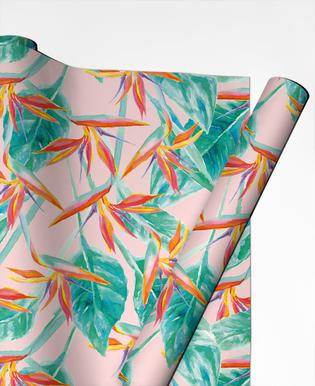 Birds Of Paradise Gift Wrap