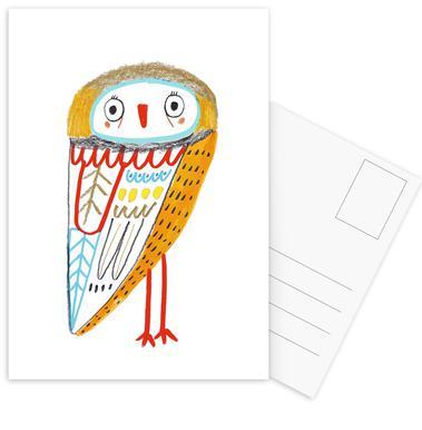Owl cartes postales